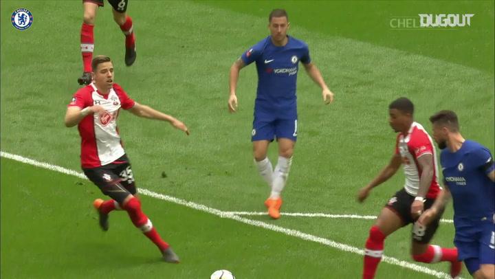 Melhores momentos de Giroud pelo Chelsea