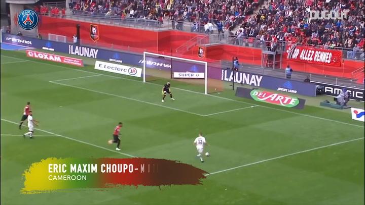نجوم كأس الأمم الأفريقية إيريك ماكسيم تشوبو موتينج Dugout