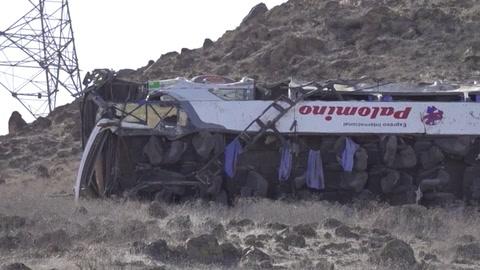 Accidente de autobús que transportaba mineros deja una treintena de muertos en Perú