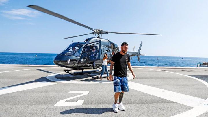 Messi y De Jong ya están en Mónaco