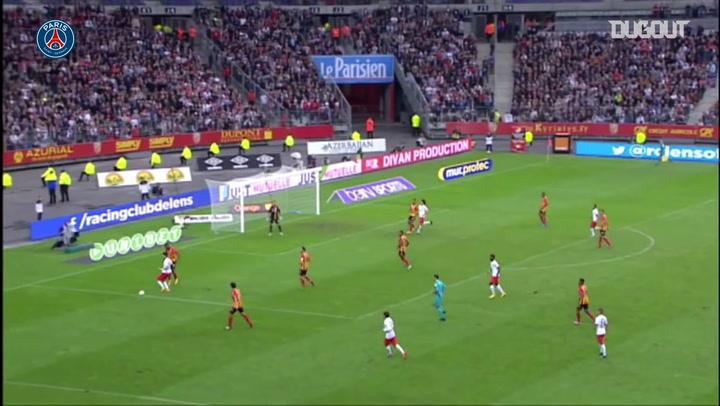 Yohan Cabaye's superb goal vs Lens in 2014
