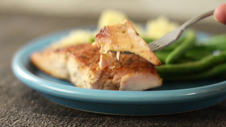 Pan Fried Salmon A Sweet Pea Chef