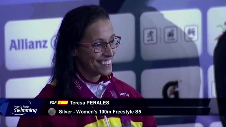 La nadadora Teresa Perales, galardonada con el Premio Princesa de Asturias