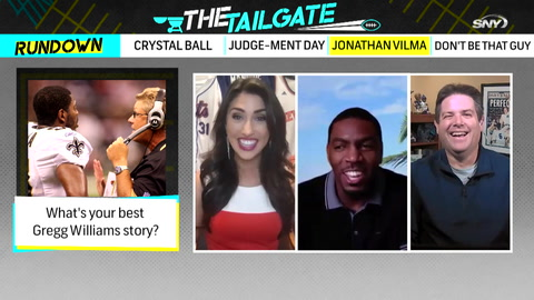 The Tailgate: Jonathan Vilma joins the show to talk Gregg Williams, Joe Judge, and more