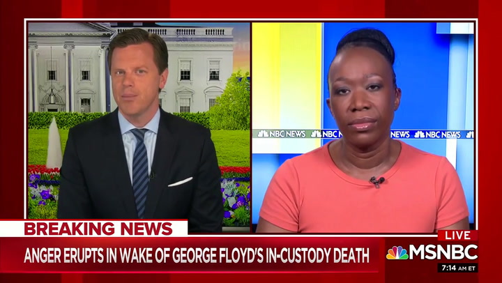 Joy Reid on Minneapolis: 'People Are Risking COVID' to Say 'Just Stop Killing Us'