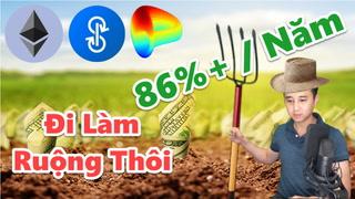698 - Lợi Nhuận Cực Cao 86%+ Năm - Thuận Dấn Thân Vào Yield Farming, Yearns Finance, Defi