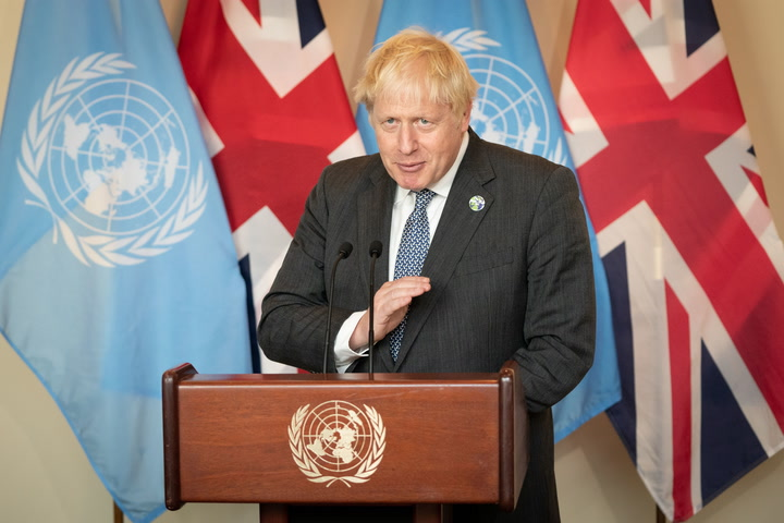 Boris Johnson says Cop26 climate conference will be 'turning point for the world'