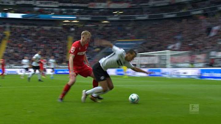 Eintracht Frankfurt - 1. FC Köln 1. - 45. (2017-2018)