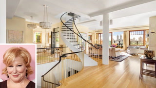 See Bette Midler's Fabulous $50M NYC Triplex Penthouse