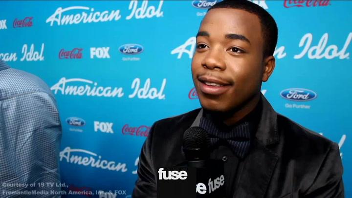 Interviews:'American Idol' Finalists Gush Over Mentor Smokey Robinson