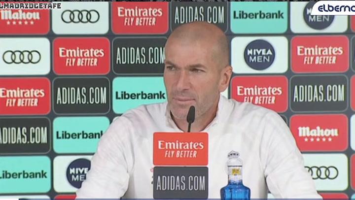 """Zidane: """"¿Si cumpliré mi contrato hasta 2022? Ya veremos"""""""