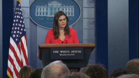 Sarah Sanders deja su cargo como portavoz de la Casa Blanca