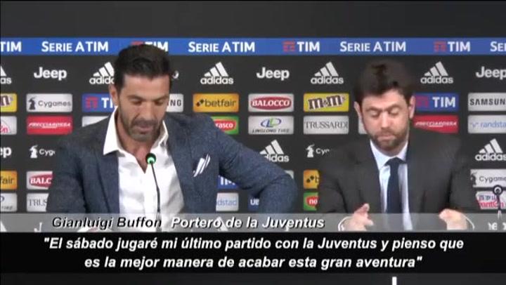 Así se despidió Buffon de la Juventus, pensando que jamás volvería