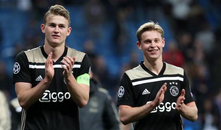 De Ligt, decisivo en el partido contra el Feyenoord