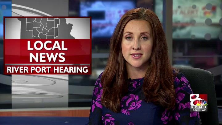 Public hearing for Missouri river port sees community concern