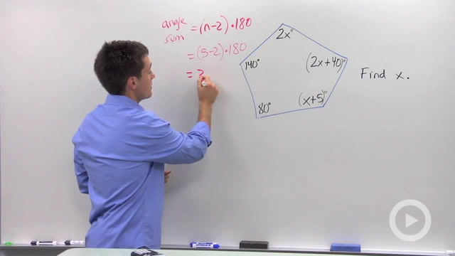 Polygon Angle Sum - Problem 3