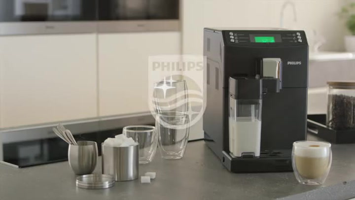 Preview image of Philips 3100 series super-automatic espresso machi video