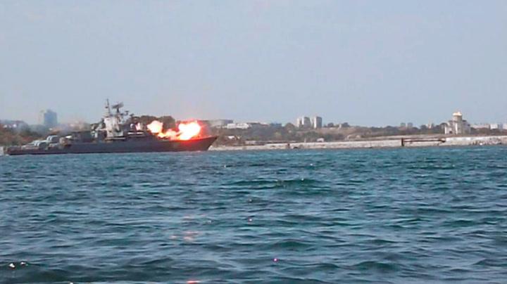 Russisk «maktdemonstrasjon» ble missil-flause