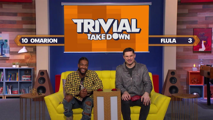 Omarion and DJ Flula Borg Hilariously Play Celebrity Face Off: Trivial Takedown Sneak Peek