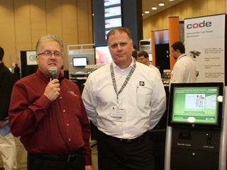 CETW12: Zebra demos on-demand gift card kiosk