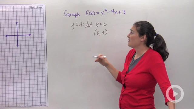 Graphing Quadratic Equations - Problem 1