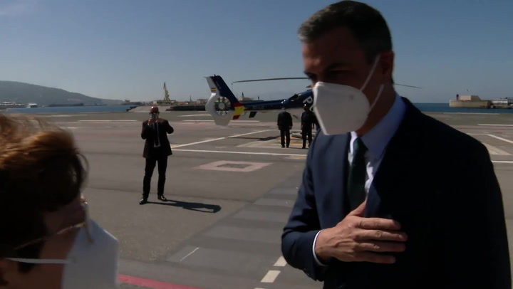 Pedro Sánchez ya está en Ceuta para analizar la crisis migratoria