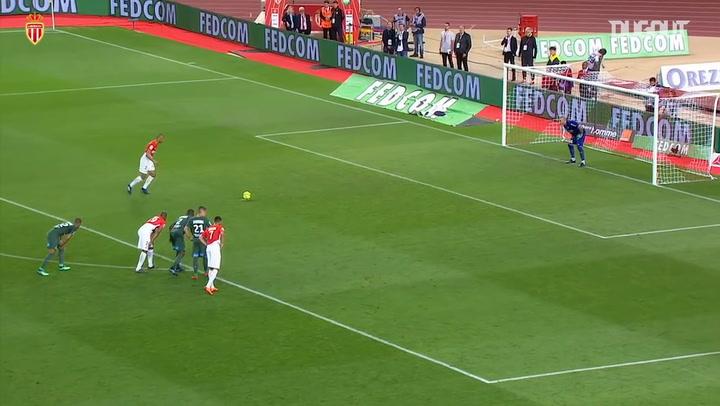 Fabinho's last Monaco goal