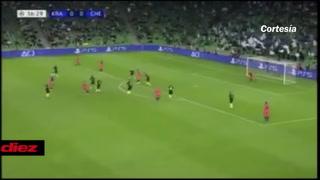 El blooper de la Champions: El grosero error del arquero de Krasnodar que le regaló el gol al Chelsea
