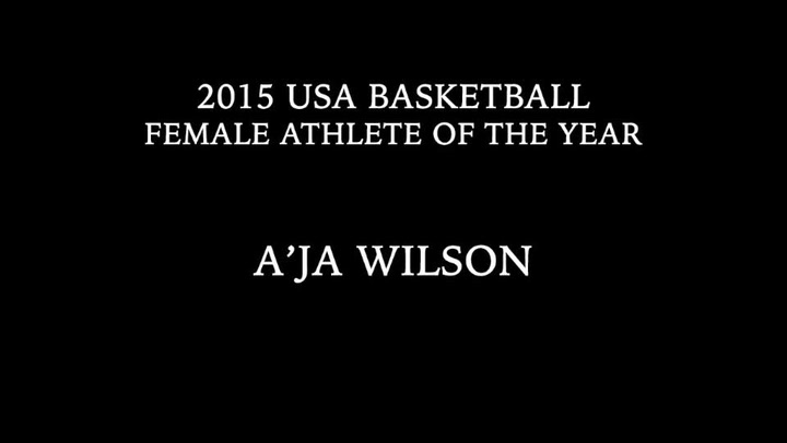 2015 USA Basketball Female Athlete of the Year