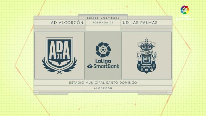 LaLiga SmartBank (J29): Resumen y goles del Alcorcón 1-1 Las Palmas