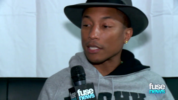 Shows: Fuse News: No, Pharrell Has Not Given Up Rapping