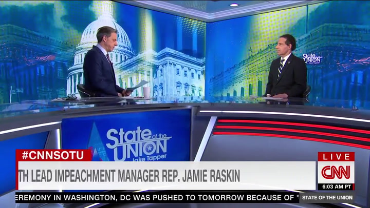 Raskin: 'Insurrection' Was 'Most Serious Presidential Crime in the History of the United States'