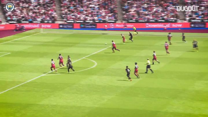 Gabriel Jesus's goals from Premier League 2019-20
