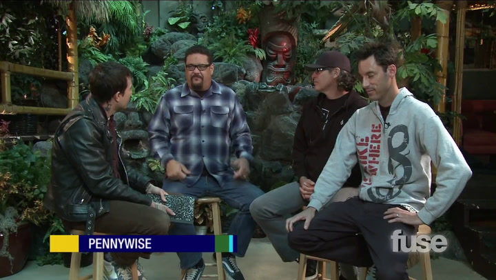 Shows: Hoppus on Music: Pennywise Warepd Tour bbq