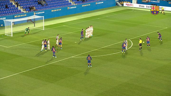 Barça B - Castellón Remontada de carácter y prestigio (2-1)