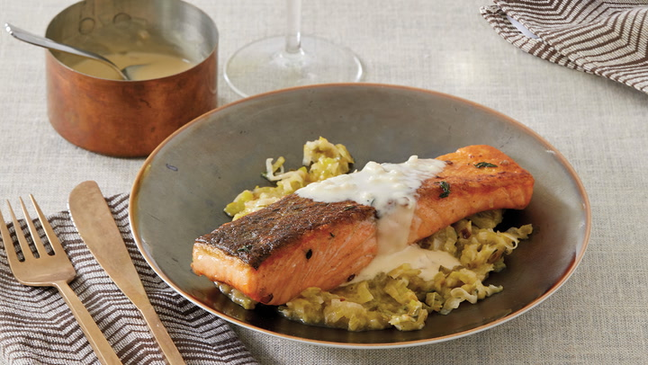A Perfect Match: Crispy Salmon with White Burgundy