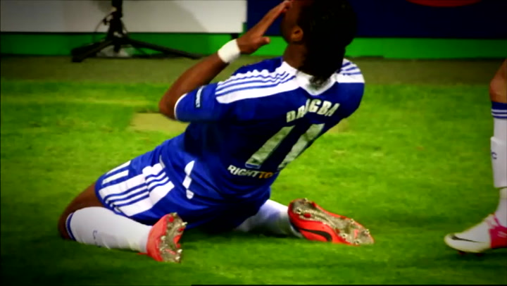 Didier Drogba the Striking Supremo