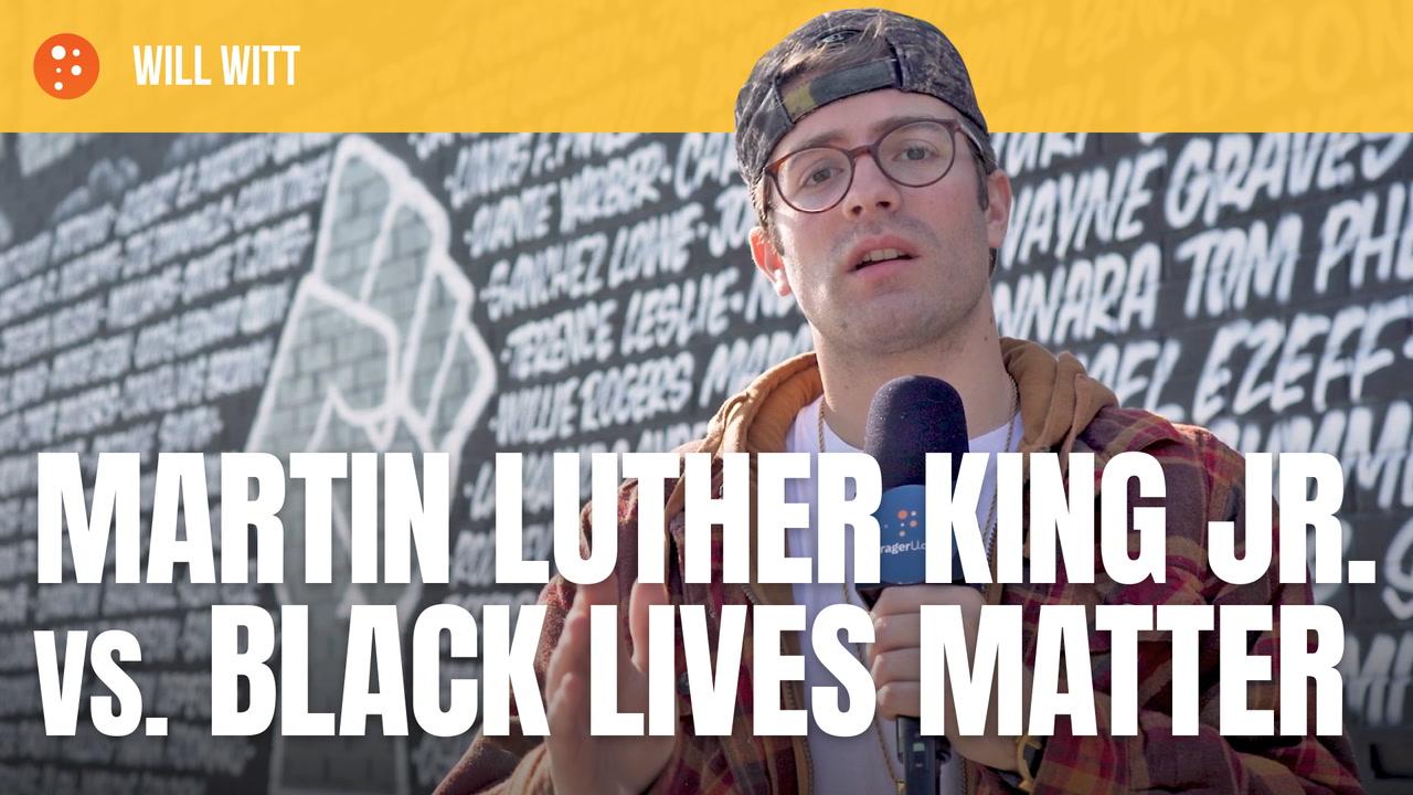 Martin Luther King Jr. vs. Black Lives Matter