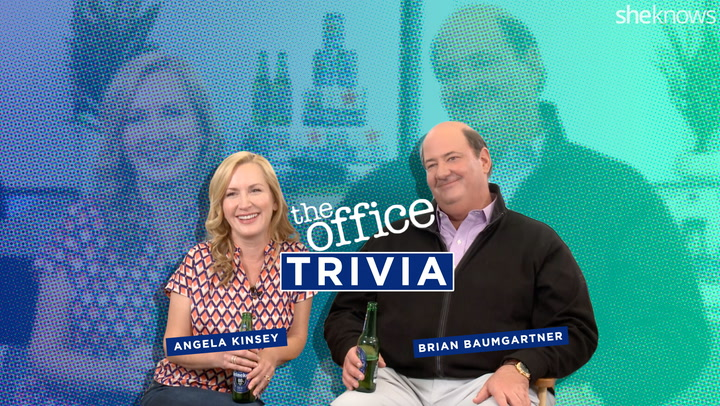 Can Angela Kinsey & Brian Baumgartner Pass This Über Difficult 'Office' Trivia Quiz?