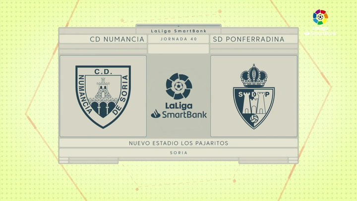 LaLiga SmartBank (J.40): Numancia 1-0 Ponferradina