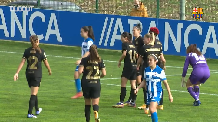 Highlights: Deportivo 1-6 Barça Women