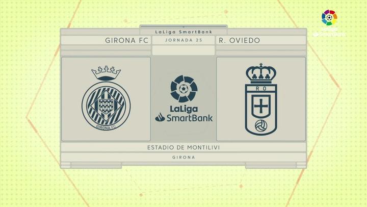 LaLiga (J25): Resumen y goles del Girona 1-1 Oviedo