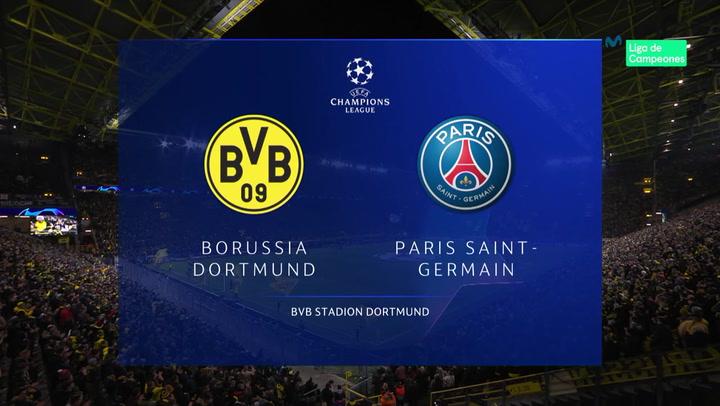 Champions League: Borussia Dortmund-PSG (2-1)