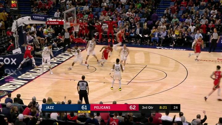 Las 10 mejores jugadas de la jornada de la NBA el 16 de enero de 2020
