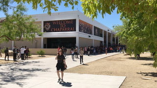 3,000 students evacuated after power outage at 2 Las Vegas schools