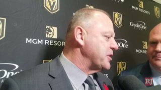 Gerard Gallant on beating the Blue Jackets