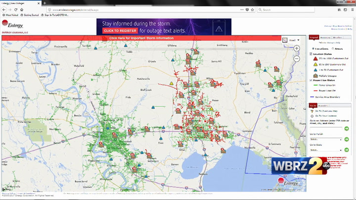 Thousands still without power in Baton Rouge, other areas on government map, mobile map, apple map, android map, education map, aaa cooper transit time map, at&t u-verse availability map, amazon map, projected snow accumulation map, technology map, nj new jersey map, office map, power map, ipad map, concord new hampshire map, louisiana natural resources map, coverage map, data map, microsoft map, construction map,