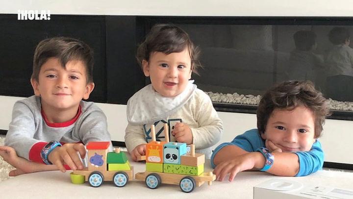 Mateo, el hijo de Leo Messi, un pequeño rockero, ¿qué opina su padre?