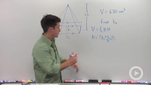 Volume of Pyramids - Problem 4