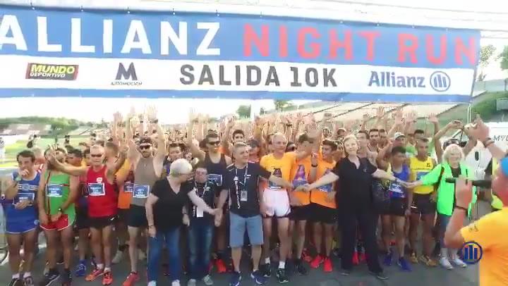 Los Márquez, centro de atención de una Allianz Night Run a favor de Aldeas Infantiles